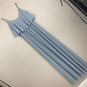 Show Me Your Mumu Caitlin Ruffle Maxi Dress L